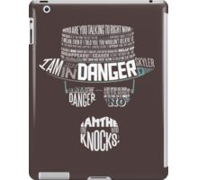 Heisenberg- The One Who Knoks iPad Case/Skin