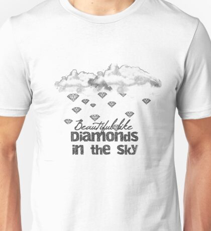 Diamonds in the sky Unisex T-Shirt