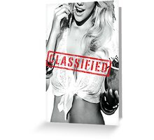 Classified - Cherry Greeting Card