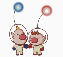 Captain Olimar and Louis by Hunter-Blaze