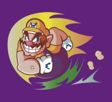 Wario Design by Hunter-Blaze