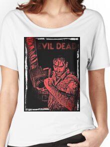 EVIL DEAD STICKER 1 Women's Relaxed Fit T-Shirt