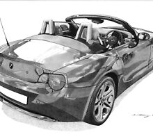 BMW Z4 by Steve Pearcy