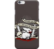 The Rabbit of Caerbannog iPhone Case/Skin
