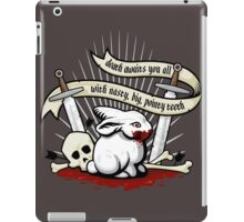 The Rabbit of Caerbannog iPad Case/Skin