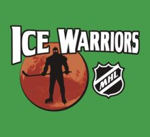Ice Warriors - Martian Hockey League Kids Tee