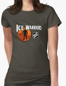 Ice Warriors - Martian Hockey League Womens Fitted T-Shirt