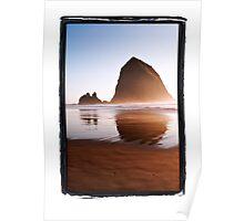 Haystack Rock, Canon Beach, Oregon Coast Poster