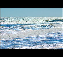 Afternoon Glitter - Atlantic Ocean - Hampton Bays, New York by © Sophie W. Smith