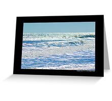 Afternoon Glitter - Atlantic Ocean - Hampton Bays, New York Greeting Card