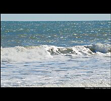 Atlantic Ocean Wave - Hampton Bays, New York by © Sophie W. Smith