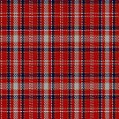 02219 Red Silca, (Unidentified #41) Tartan Fabric Print Iphone Case by Detnecs2013