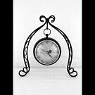 Vintage Wrought Iron Table Clock by © Sophie Smith