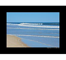 Atlantic Ocean Beach - Hampton Bays, New York  Photographic Print