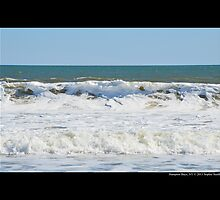 Atlantic Ocean - Hampton Bays, New York  by © Sophie W. Smith