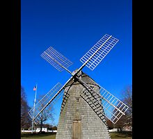 Old Windmill - Water Mill, New York  by © Sophie W. Smith