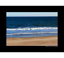 Atlantic Ocean Beach - Montauk, New York Photographic Print