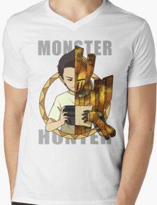 Hunter's Life (Barroth) (CWIIUB) Mens V-Neck T-Shirt