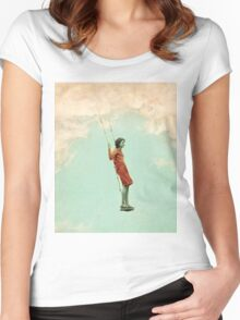 Lucy in the Sky Women's Fitted Scoop T-Shirt