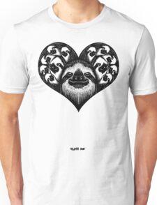 A Slothy Heart Unisex T-Shirt