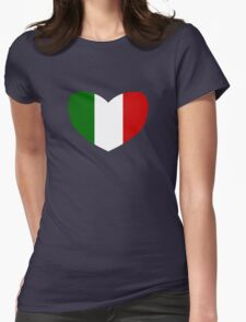 Love Italy Womens Fitted T-Shirt
