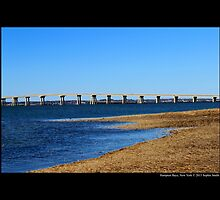 Ponquogue Bridge - Hampton Bays, New York by © Sophie W. Smith