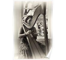 Gentle Harp Poster
