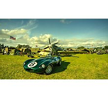 D type Jag  Photographic Print