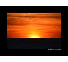 Sunset - End Of The Day - Montauk, New York Photographic Print