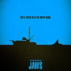 Movie Poster - &quot;JAWS&quot; by Mark Hyland