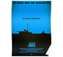 """Movie Poster - """"JAWS"""" Poster"""