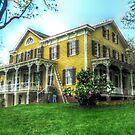 Metlar Bodine House, Haunted House, Piscataway NJ by Jane Neill-Hancock