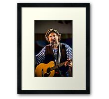 A Seemless Performance Framed Print
