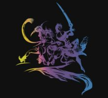 Final Fantasy X-2 Revamped Logo by Hunter-Blaze