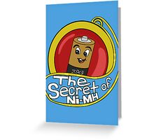 The Secret of Ni-MH Greeting Card