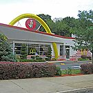 Old Style Golden Arches in Bethlehem, PA, USA by Jane Neill-Hancock