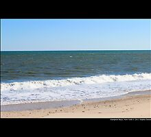 Atlantic Ocean Beach - Hampton Bays, New York  by © Sophie W. Smith