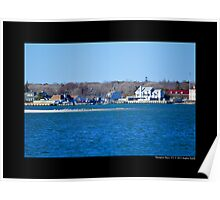 View On Smith Creek - Hampton Bays, New York Poster
