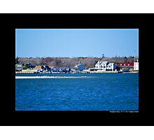 View On Smith Creek - Hampton Bays, New York Photographic Print