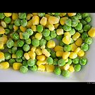 Frozen Vegetables - Peas And Corn by © Sophie W. Smith