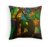 kapotasana digital - 2013 Throw Pillow