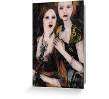 Prada Models Greeting Card