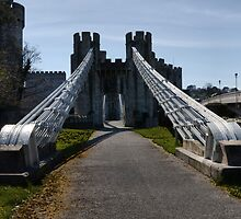 Conwy Castle by Paul Gibbons