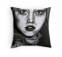 Burberry Model Throw Pillow