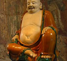 The Laughing Buddha by wiggyofipswich