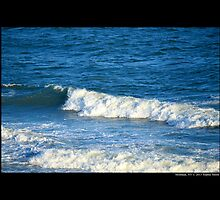 Atlantic Ocean Waves - Montauk, New York by © Sophie W. Smith
