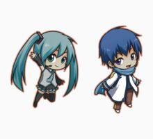 Vocaloid - Miku/Kaito set by banafria