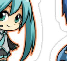 Vocaloid - Miku/Kaito set Sticker