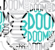 Doom Doom Doom - Gir (Filled in) Sticker