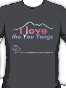 I love the You Yangs - dark background 2 T-Shirt